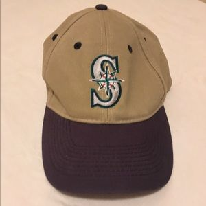 Seattle Mariners baseball Velcro Hat Stadium adult